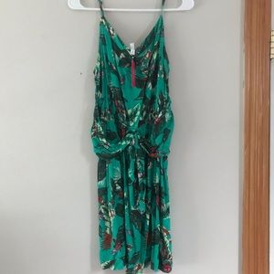 NWT Xhilaration summer dress green size M